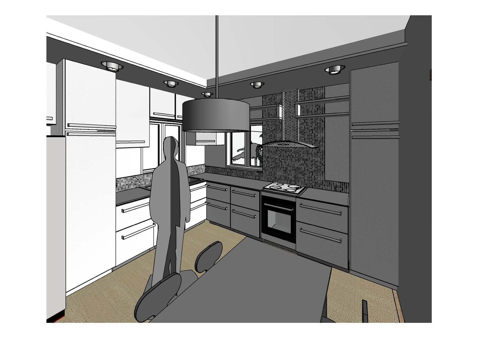 PROJETOS DE COZINHA 4d Projetos Arquitetura Sustentável #7F674C 1600 1131