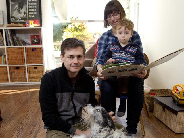 Jennifer Whiteford and David Collister wanted room to grow in their award-winning home. A brother or sister will soon join two-year-old Milo Collister and dog Oreo.