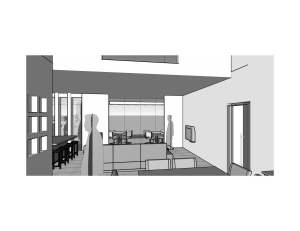 casa moderna projeto 3D