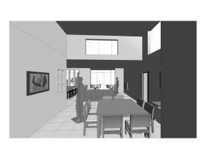 casa moderna projeto terrea