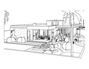 Projeto de Casa moderna Terrea