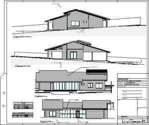 casa terrea tijolo ecologico - Sheet - A3-4 - FACHADAS