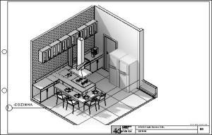 casa terrea tijolo ecologico - Sheet - B8 - COZINHA