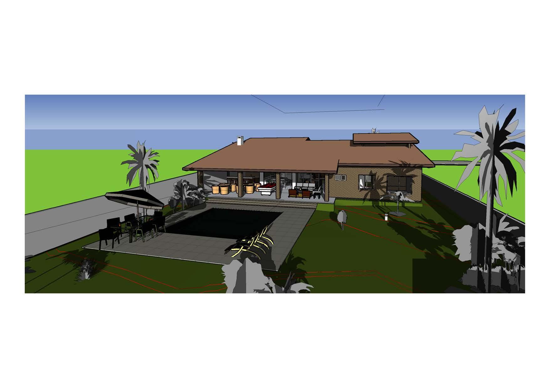 Casa Terrea 4d Projetos Arquitetura Sustentável #669E2D 1755 1241
