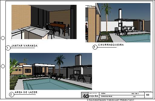 Casa Terrea 4d Projetos Arquitetura Sustent 225 Vel