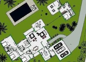 modelo casa terrea