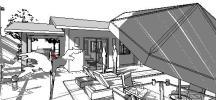 modelo de casa terrea pequena - fachada