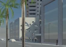 modelo de predio comercial residencial