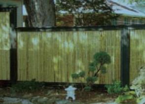 muro de bambu
