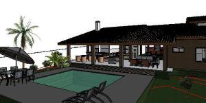 projeto casa terrea tijolo ecologico
