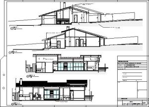 projeto casa terrea tijolo ecologico - Sheet - A2-4 - CORTES