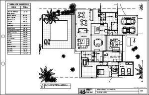 projeto casa terrea tijolo ecologico - - PLANTA BAIXA