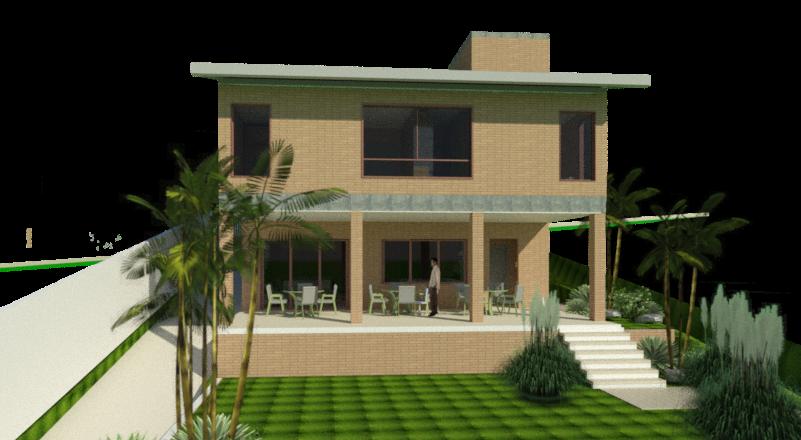 projeto casa tijolo ecologic