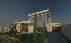 projeto de arquitetura Renderizado - 3D