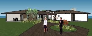 projeto de hotel pousada - 3D View - 3D View 18