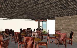 projeto de hotel pousada - 3D View - 3D View 5