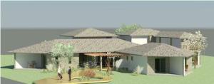 projeto de hotel pousada - Rendering - 3D View 12_1
