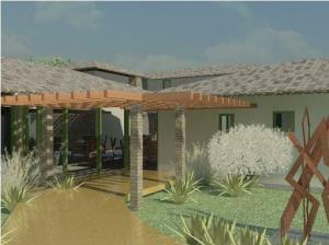 projeto de hotel pousada - Rendering - 3D View 8_1