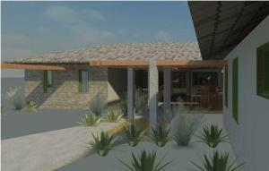 projeto de hotel pousada - Rendering - 3D View 8_2