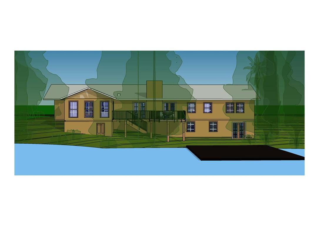 MODELO DE SOBRADO EM TERRENO DESNIVELADO 4d Projetos Arquitetura  #1B70B0 1085x768