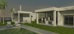 projeto edicula-casa terrea
