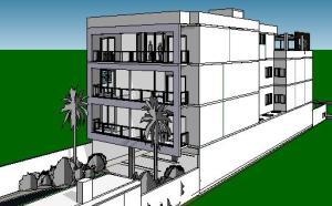 projeto loj apartamentos -comercio embaixo
