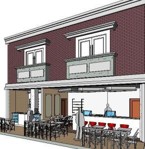 Projeto loja de shopping 3D View 3