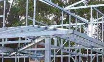 casa construida em steel frame