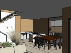 VY-Sobrado tijolo Ecologico - 3D View - 3D View 4