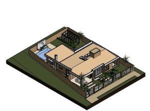 projeto tijolo ecologico casa terrea - 3D View - Copy (3) of ISO