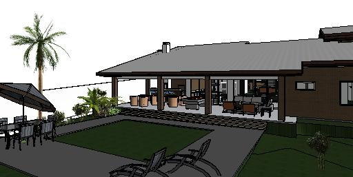 projeto de de casa terrea em tijolo ecologico