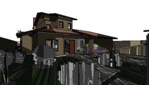 projeto de sobrado tijolo ecologico