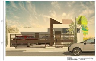 casa terrea terreno 10x20 - Sheet - 13 - FACHADA