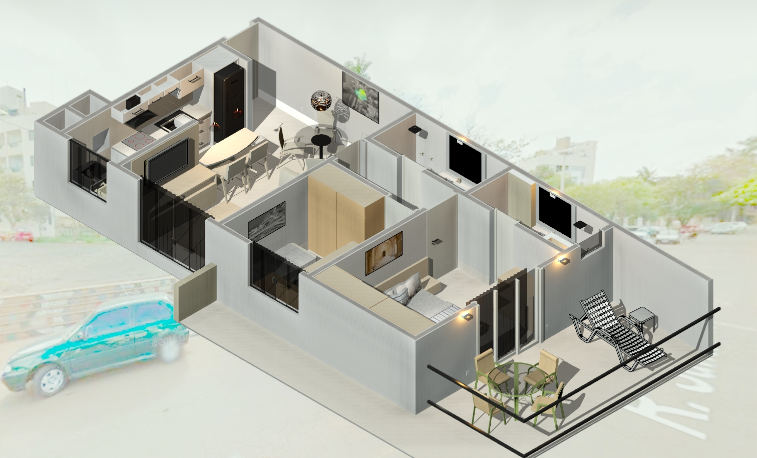 projeto reforma apartamento
