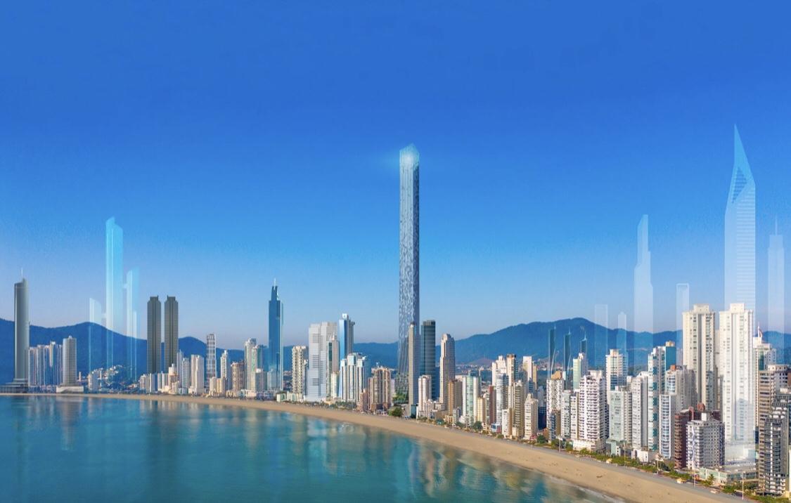 Projeto do prédio mais alto doBrasil